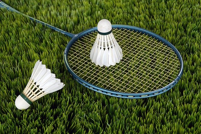 badminton is my favorite game